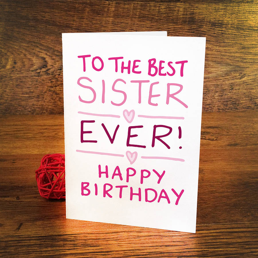 Best Lovable Sister Birthday Images