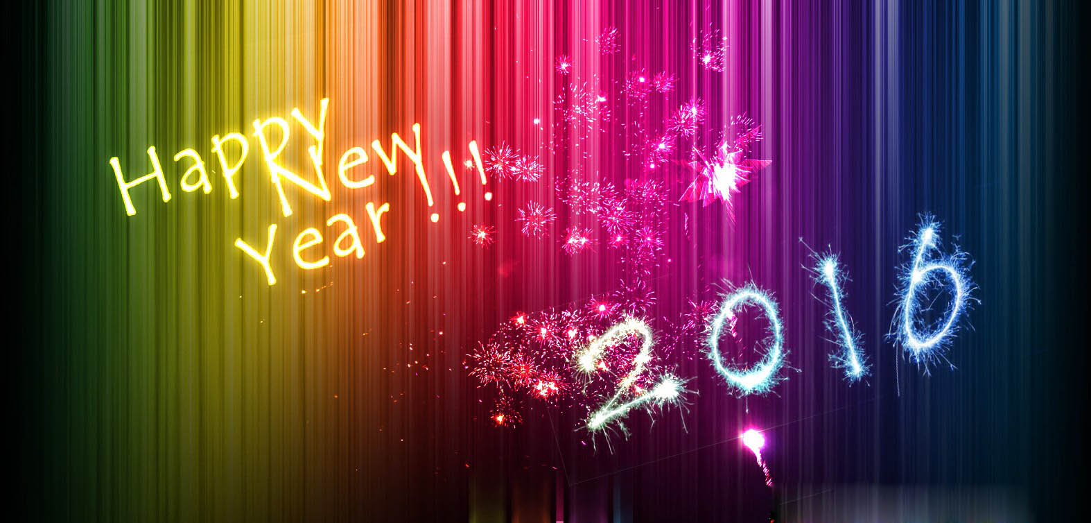 New year 2016 -hd