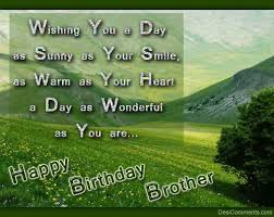 Happy Birthday best  for my Brother