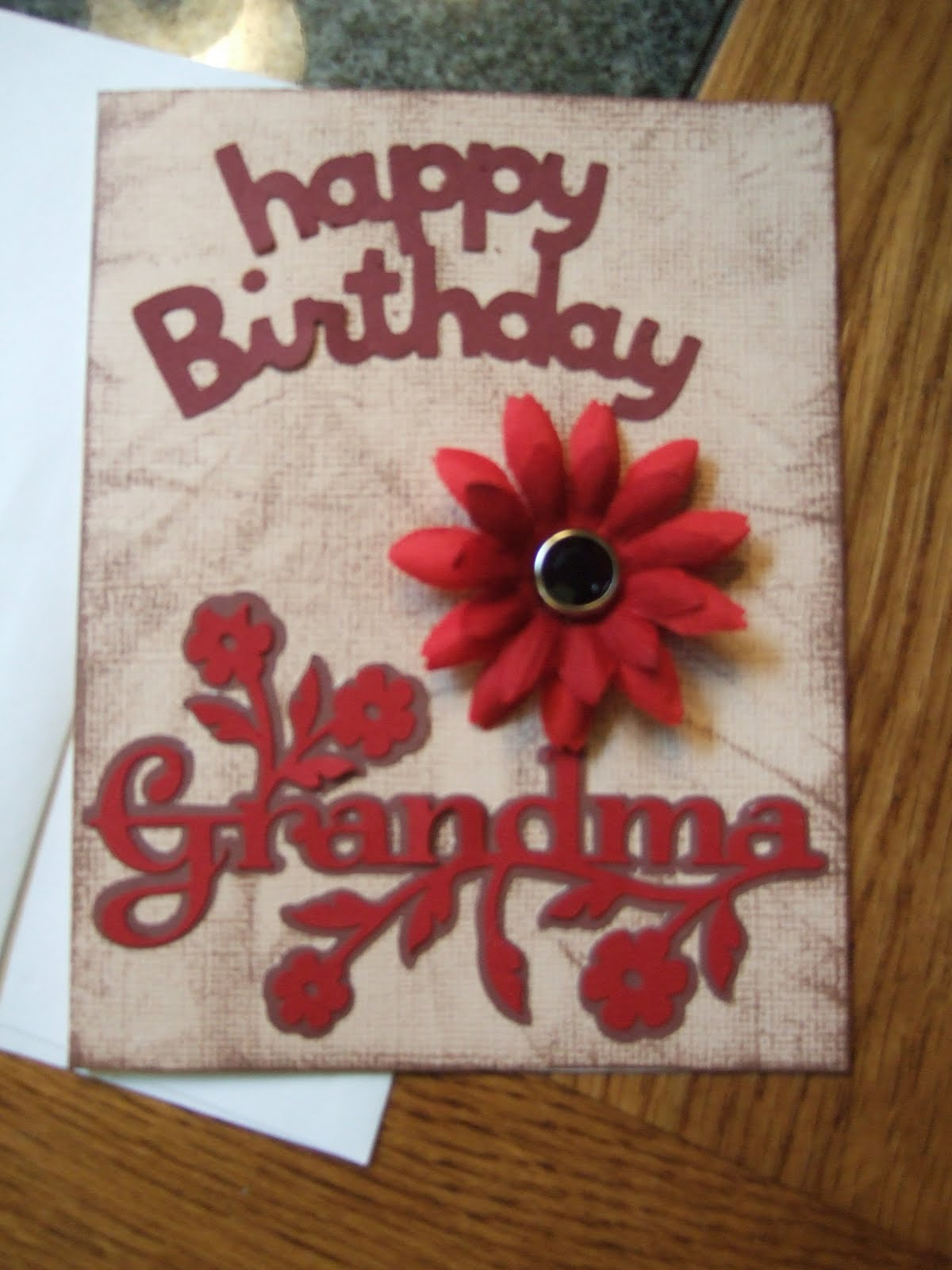 Pocket Of Birthday grandmother