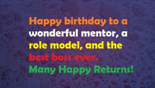 Happy Birthday Wishes for Teachers