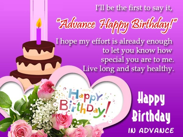 Happy Birthday Wishes for To you