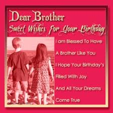 Birthday Wishes Small brother