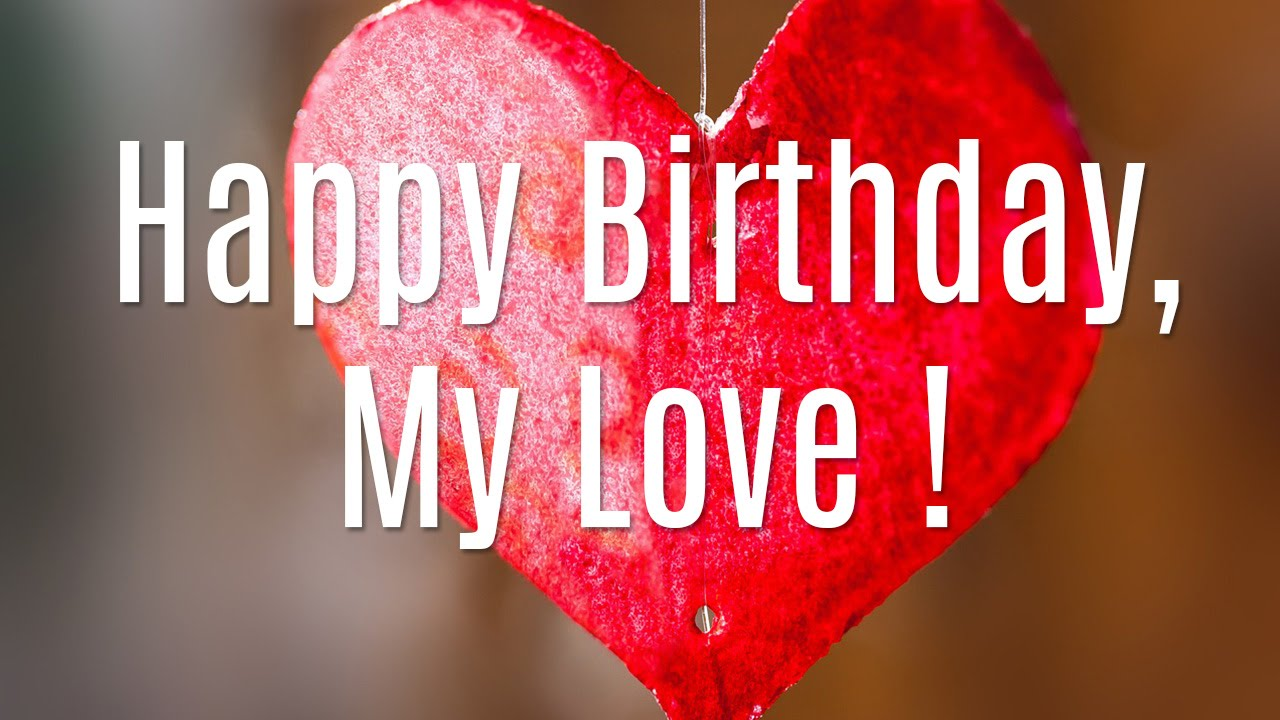 Happy Birthday Wishes Images  for lover
