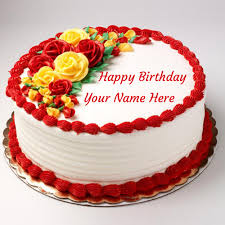Happy birthday you with name.