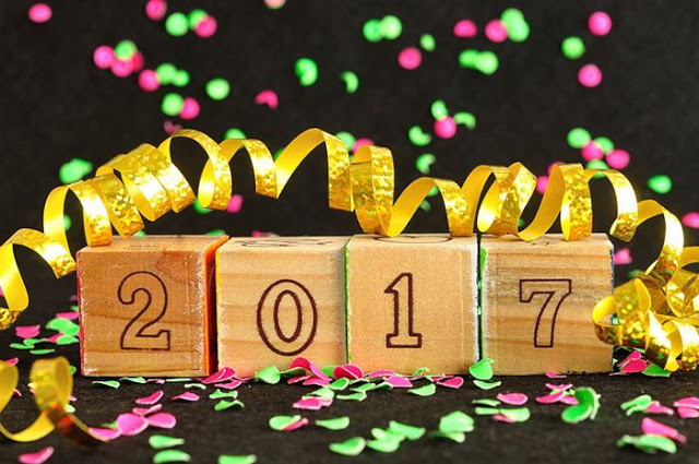 Happy New Year Hd wallpaper  2017