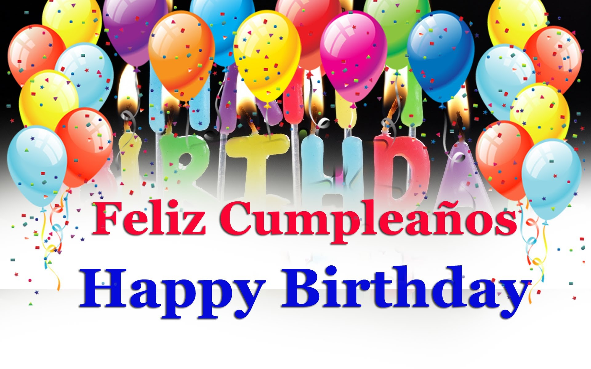 Картинки поздравления с днем рождения на испанском