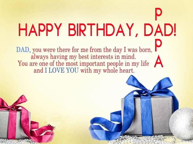 Birthday Image For Your Father
