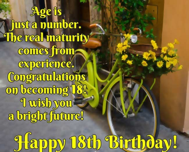 Happy 18 Birthday Images For Your Friends