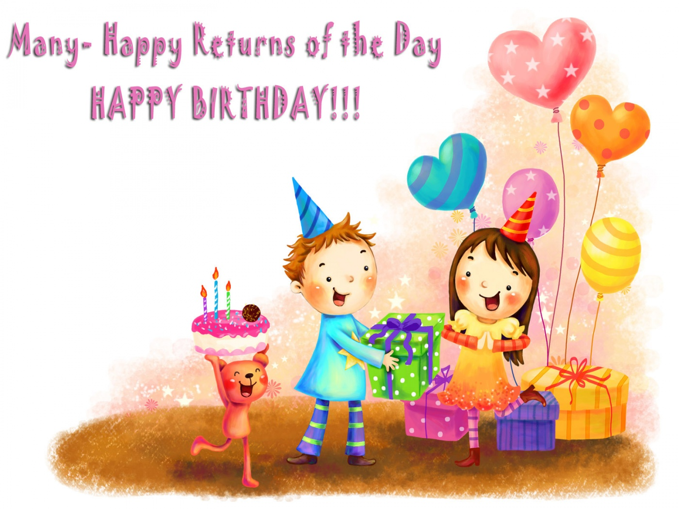 Happy Birthday Images For kids Born in January