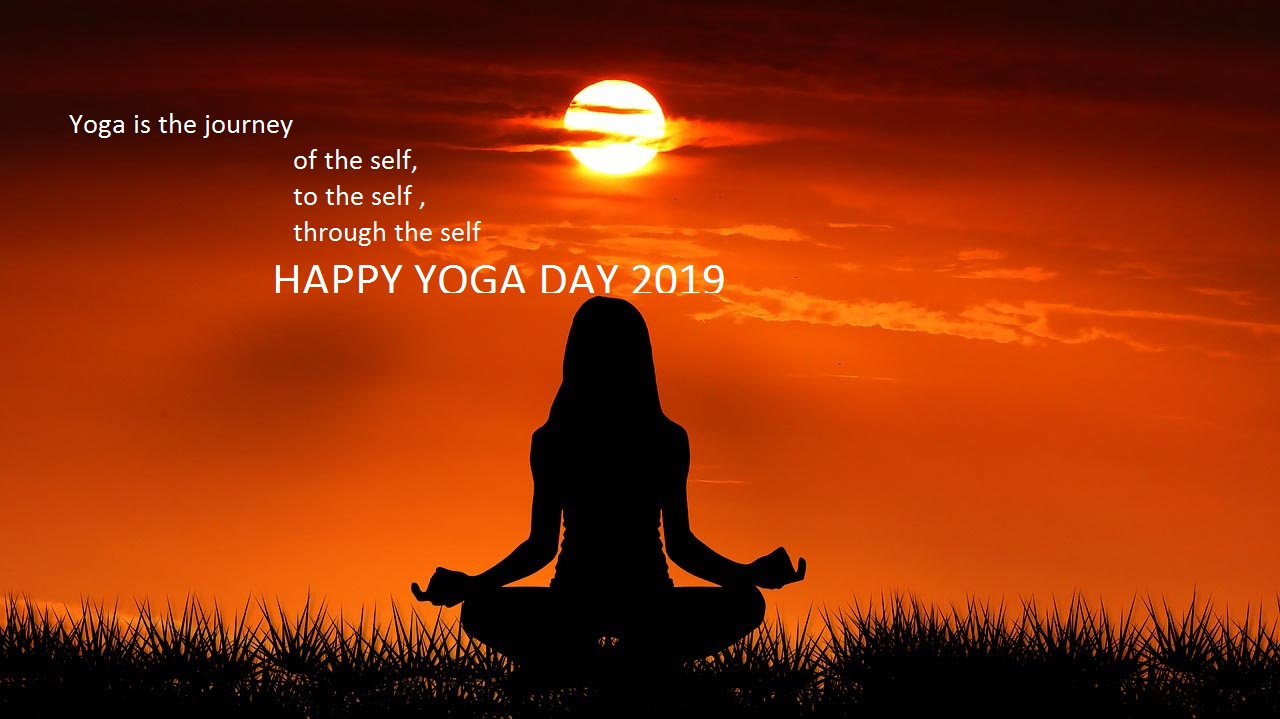 Quotes Wallpaper For Yoga day Wishes