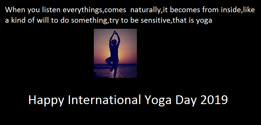 Yoga Day Quotes Images For Facebook Status