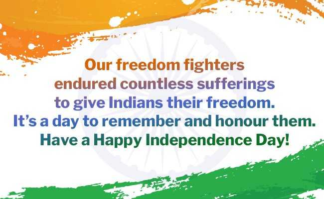 Happy Independence day wishes Quotes Wallpapers 2019