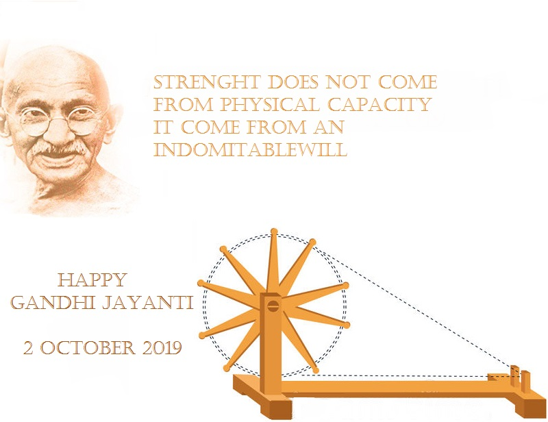 Happy Gandhi Jayanti Quotes Images