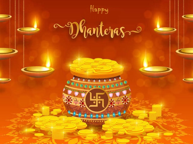 Dhanteras Wishes Images