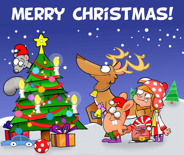 Merry Christmas PC Wallpaper 2019